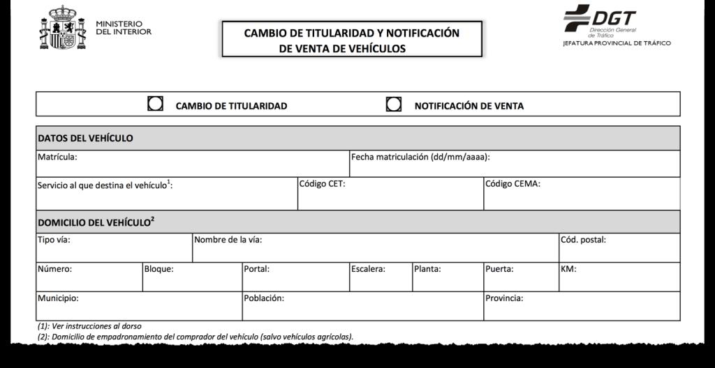Cambiando el titular de un veh culo certificados m dicos para la renovaci n del carnet de conducir - Cambiar de medico de cabecera por internet ...