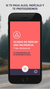 Captura de pantalla de la app Comobity