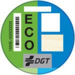 Etiqueta del Distintivo Ambiental ECO
