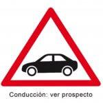 Pictograma que aparece en los medicamentos que afectan a la conducción